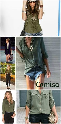 Como usar: Verde militar - BLOG MERCI | Fashion, Lifestyle & Beauty