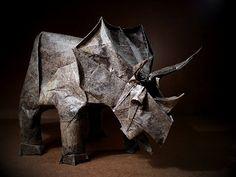 Mariano-Mi mundo el Origami: Triceratops
