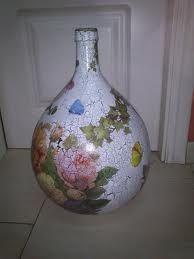 garrafas cristal decoradas - Buscar con Google