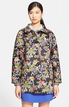 VIVETTA 'Morfeo' Flower Print Neoprene Coat   Nordstrom