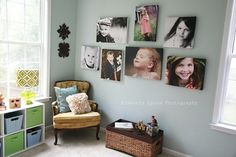 Love the look of canvas photos by rose