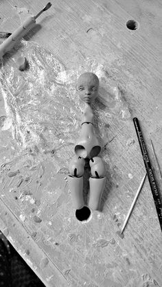 "Wip new tiny face "" Colline"" for the tinycherry body. | Flickr: Intercambio de fotos"