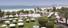 Immaculate gardens and pristine white, sandy beaches at The Ritz-Carlton provide an exclusive retreat with views of some of Dubai's most famous landmarks.