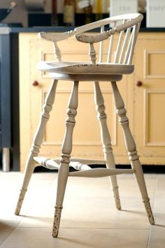 Bar Stool with Swivel Seat from Chalon
