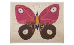 P. Marrot Butterfly - Pink - Mirrors & Wall Décor - Accessories | Jayson Home