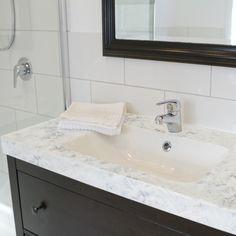 White Diamond Bathroom- Faux Granite Counter Top Paint Kit by Giana
