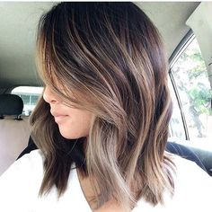 Image result for brown hair small highlights