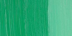 Holbein oils - Emerald Green Nova