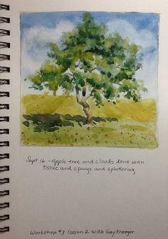 Joan Smith - Workshop 3, Watercolor Sketching & Journaling