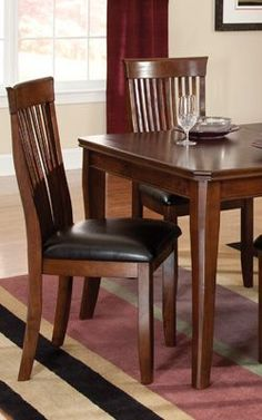 2 Regency Wood Back Side Chairs