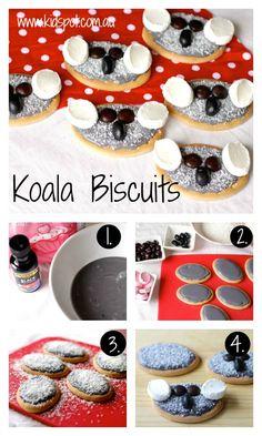 Koala Biscuits Recipe - Kids cooking