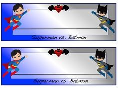 Batman Desk Name Plates Superhero Classroom Theme, League Legends, Desk Name Plates, Jeon Somi, Batman Vs Superman, School Readiness, Gain, Card Stock, Family Guy