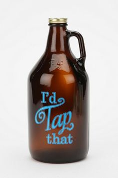 Tap That Growler #UrbanOutfitters For Deano?