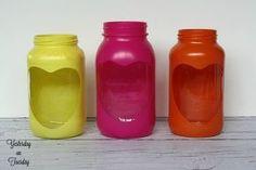 valentine mason jar heart gifts valentinesday masonjars, mason jars, seasonal holiday decor, valentines day ideas