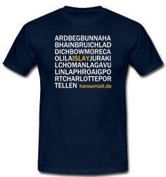 T-shirt Islay whisky