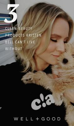 Kristen Bell's 3 favorite clean beauty products