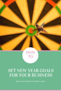 New year means Setting New Year Goals for your business, here is my approach to setting realistic goals which will give you direction. The post Setting New Year Goals for your Business appeared first on Clairey at Fairy Crafters.