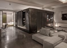 Sexy Converted Warehouse Apartment in London Goes Heavy Metal - Curbed