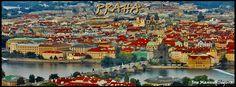 Vista de Praga desde Petřínská rozhledna. (Praha - Czech Republic)