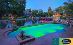 Check out this amazing custom swimming pool design by Premier Pools!
