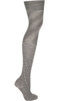 Missoni /Striped over the knee wool blend socks