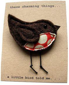 1. Brown robin