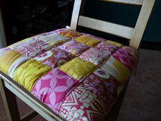This is a cute idea for a cushion on top of the cedar chest