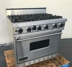 """Viking Professional VGIC3656BSS 36"""" Gas Range Stainless Oven W/ 6 Open Burners · $2,950.00 Gas Oven, Stove Oven, 36 Gas Range, Viking Range, W 6, Stoves, Vikings, Kitchen Design, Appliances"""