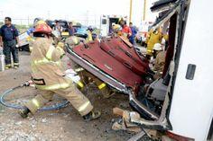 Capacitan a PC y Bomberos en rescate urbano   Agencia Informativa-Oficina de Corresponsales