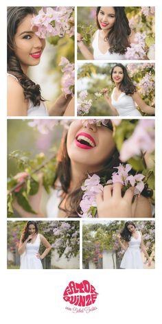 15 anos - fotografia de 15 anos - fotos de 15 anos - 15th birthday - flores rosas - batom vermelho #15anos #fotografiade15anos