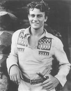 John Wayne as young man.