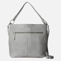Willow Tree - Shoulder & Crossbody Bag - R1.599 Grey Leather, Travel Bags, Shoulder Strap, Crossbody Bag, Willow Tree, Texture, Purses, Cross Body, Amp
