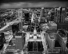 St Louis Missouri Downtown View from Top of by visualjourneys