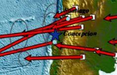 Ciudades de Chile y Argentina se movieron hacia el Océano Pacífico tras terremotos | Patagonia
