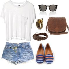 summer simple, created by brittanyburkholder on Polyvore