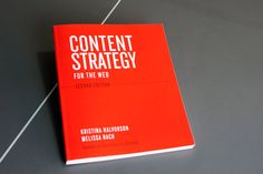 Content Strategy for the Web. Second edition User Experience Design, Article Design, Book Show, The More You Know, Writing Skills, Book Recommendations, Web Development, Good Books, Web Design