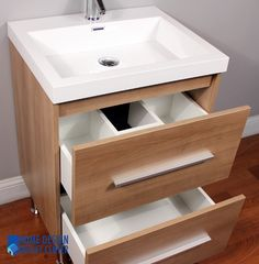 At 8080 L Ripley 24 Single Modern Bathroom Vanity Set Light Oak On Pinterest Modern