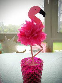 flamingos basteln pinterest strohhalm basteln mit kindern und bastelideen. Black Bedroom Furniture Sets. Home Design Ideas