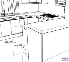 Clique Arquitetura - Seu portal de Ideias e Soluções - Bancadas de Cozinha