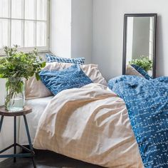 Spring Summer 2018, Comforters, Blanket, Bed, Home, Design, Creature Comforts, Quilts, Stream Bed
