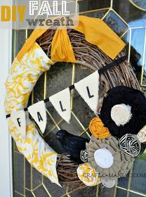 DIY Fall Wreath  Couronne d'automne