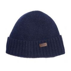 The Barbour Carlton Beanie is knitted in a wool-blend yarn and lined in fleece for exceptional warmth and comfort. Styled with a ribbed turnback hem, this cosy hat is finished with a logo-embossed leather badge. Mens Beanie Hats, Knit Beanie, Barbour Hats, Business Casual Men, Lifestyle Clothing, Hat Sizes, Hats For Men, Green And Grey, Wool Blend