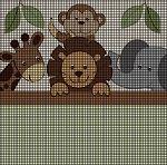 Baby Zoo Animals Crochet Pattern