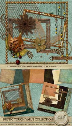 Rustic Touch Value Collection [DL-LB-SVC-RusticTouch]