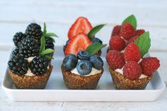 raw vegan fruit tarts