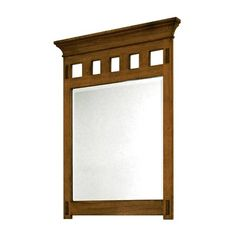 Found it at Wayfair - American Craftsman Framed Mirror Craftsman Mirrors, Craftsman Frames, Craftsman Bathroom, Craftsman Style, Craftsman Decor, Arts And Crafts For Adults, Arts And Crafts House, Bathroom Vanities Without Tops, Arts And Crafts Furniture