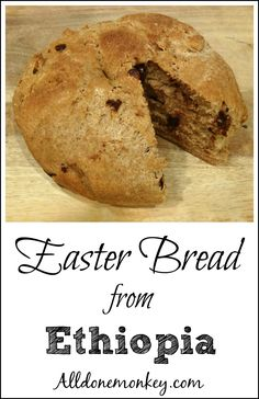 Ethiopian Recipe for Easter: Defo Dabo Bread | Alldonemonkey.com