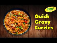 Making of Vegetarian Gravies and Curries of North and South Indian Recipe