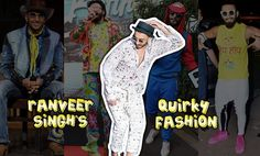 Ranvir singh funny clothing outfits
