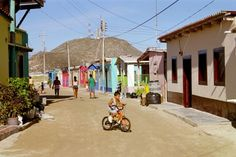 Los Roques. Love the colorful houses